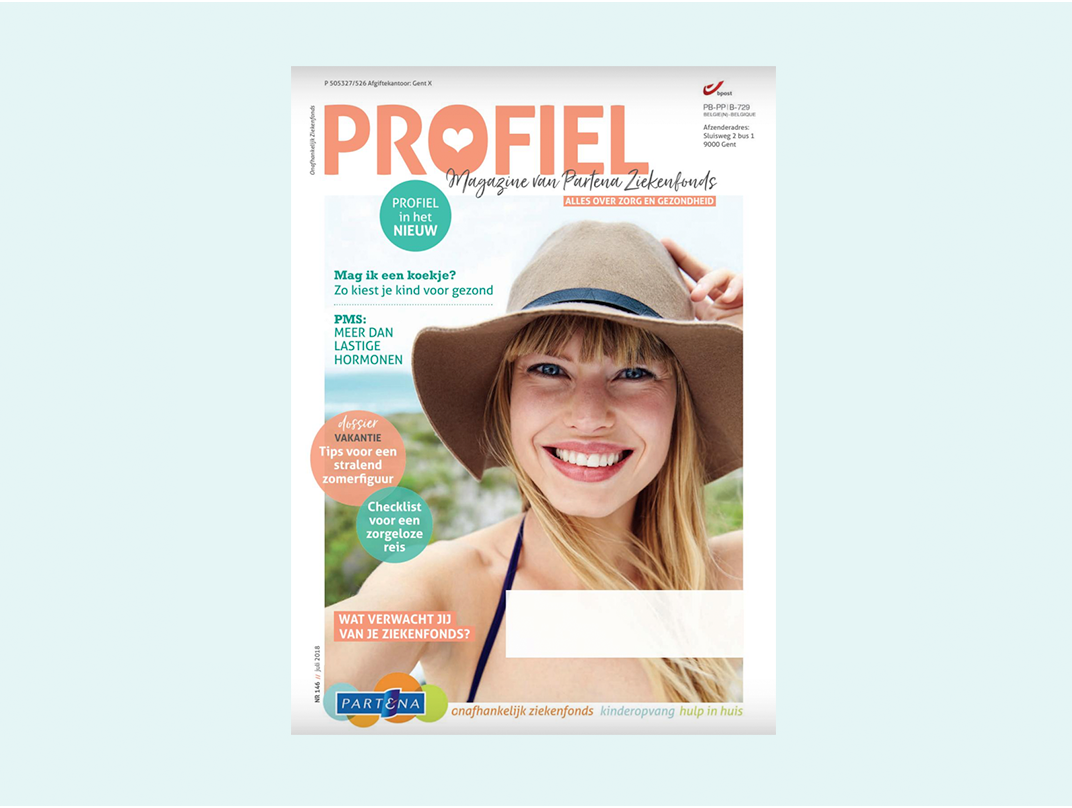 Profiel magazine cover photo